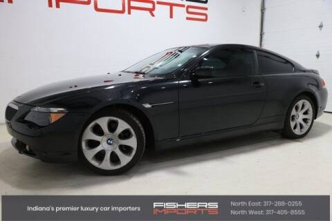 2006 BMW 6 Series for sale at Fishers Imports in Fishers IN