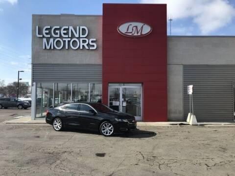 2015 Chevrolet Impala for sale at Legend Motors of Detroit - Legend Motors of Ferndale in Ferndale MI