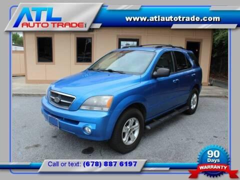 2005 Kia Sorento for sale at ATL Auto Trade, Inc. in Stone Mountain GA