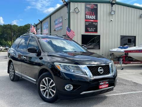 2013 Nissan Pathfinder for sale at Premium Auto Group in Humble TX