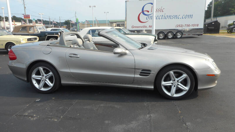 2005 Mercedes-Benz SL-Class for sale at Classic Connections in Greenville NC