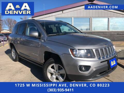 2016 Jeep Compass for sale at A & A AUTO LLC in Denver CO