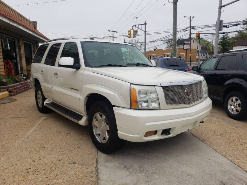 2004 Cadillac Escalade for sale at A.C. Greenwich Auto Brokers LLC. in Gibbstown NJ