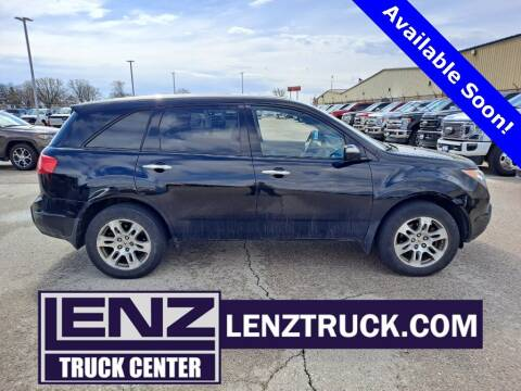 2009 Acura MDX for sale at LENZ TRUCK CENTER in Fond Du Lac WI