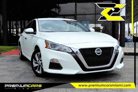 2020 Nissan Altima for sale at Premium Cars of Miami in Miami FL