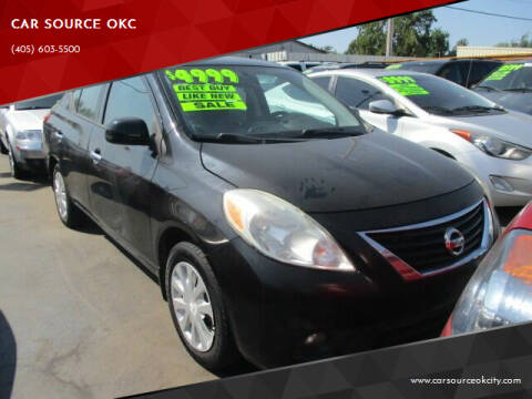 2014 Nissan Versa for sale at Car One - CAR SOURCE OKC in Oklahoma City OK