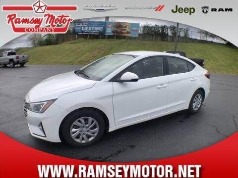 2020 Hyundai Elantra for sale at RAMSEY MOTOR CO in Harrison AR