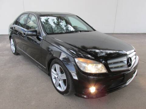 2010 Mercedes-Benz C-Class for sale at QUALITY MOTORCARS in Richmond TX