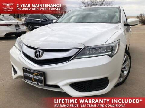 2016 Acura ILX for sale at European Motors Inc in Plano TX