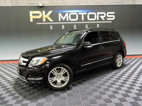 2015 Mercedes-Benz GLK for sale at PK MOTORS GROUP in Las Vegas NV