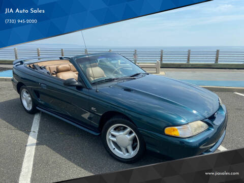 1994 Ford Mustang for sale at JIA Auto Sales in Port Monmouth NJ