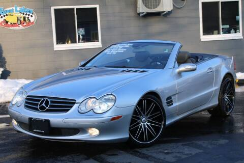 2005 Mercedes-Benz SL-Class for sale at Great Lakes Classic Cars & Detail Shop in Hilton NY