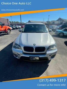 2013 BMW X5 for sale at Choice One Auto LLC in Beech Grove IN