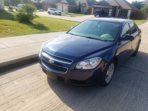 2010 Chevrolet Malibu for sale at El Jasho Motors in Grand Prairie TX