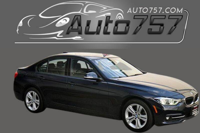 2016 BMW 3 Series for sale at Auto 757 in Norfolk VA
