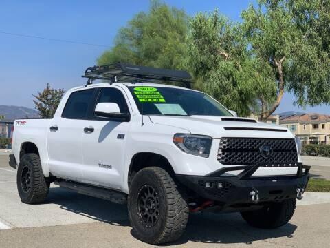 2018 Toyota Tundra for sale at Esquivel Auto Depot in Rialto CA