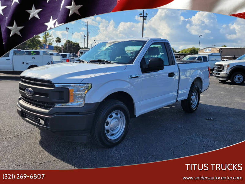 2020 Ford F-150 for sale at Titus Trucks in Titusville FL
