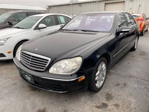 2003 Mercedes-Benz S-Class for sale at Lakeshore Auto Wholesalers in Amherst OH