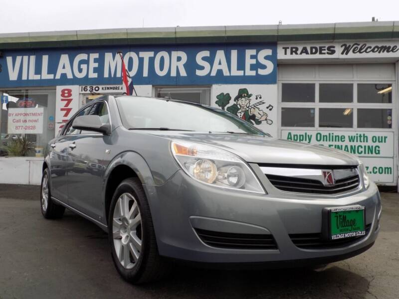 2009 Saturn Aura for sale at Village Motor Sales in Buffalo NY