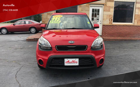 2013 Kia Soul for sale at Autoville in Kannapolis NC