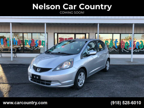 2012 Honda Fit for sale at Nelson Car Country in Bixby OK