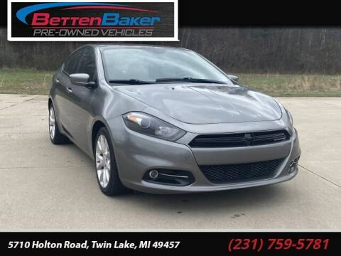 2013 Dodge Dart for sale at Betten Baker Preowned Center in Twin Lake MI