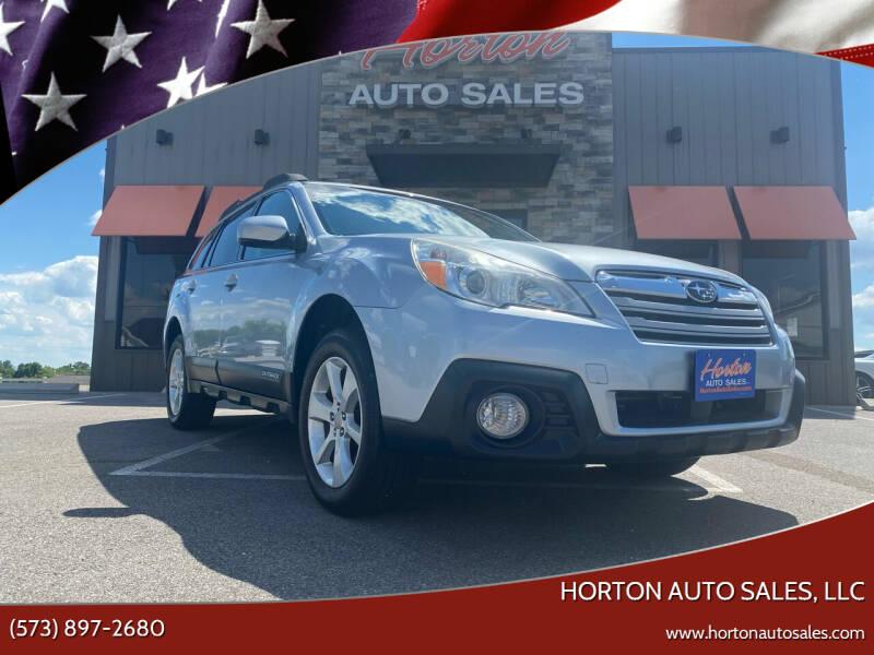 2014 Subaru Outback for sale at HORTON AUTO SALES, LLC in Linn MO