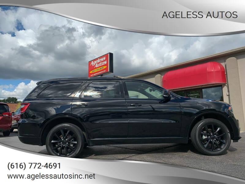 2017 Dodge Durango for sale at Ageless Autos in Zeeland MI