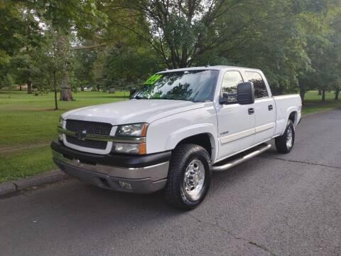 2004 Chevrolet Silverado 2500 for sale at NATIONAL AUTO SALES AND SERVICE LLC in Spokane WA