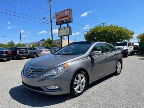 2012 Hyundai Sonata for sale at Autohaus of Greensboro in Greensboro NC
