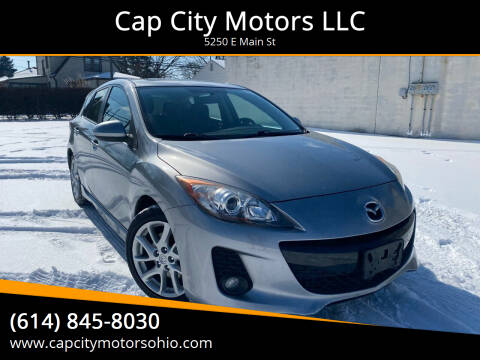 2012 Mazda MAZDA3 for sale at Cap City Motors LLC in Columbus OH