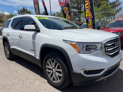 2017 GMC Acadia for sale at Duke City Auto LLC in Gallup NM