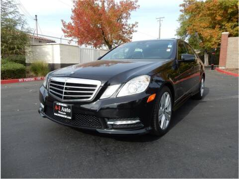 2012 Mercedes-Benz E-Class for sale at A-1 Auto Wholesale in Sacramento CA