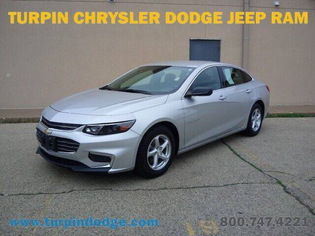 2017 Chevrolet Malibu for sale at Turpin Dodge Chrysler Jeep Ram in Dubuque IA