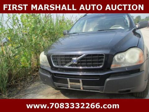 2006 Volvo XC90 for sale at First Marshall Auto Auction in Harvey IL