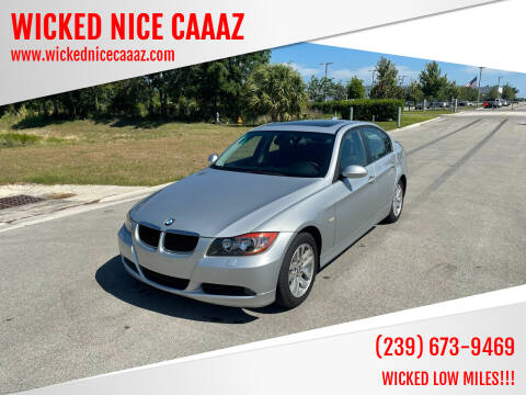 2007 BMW 3 Series for sale at WICKED NICE CAAAZ in Cape Coral FL