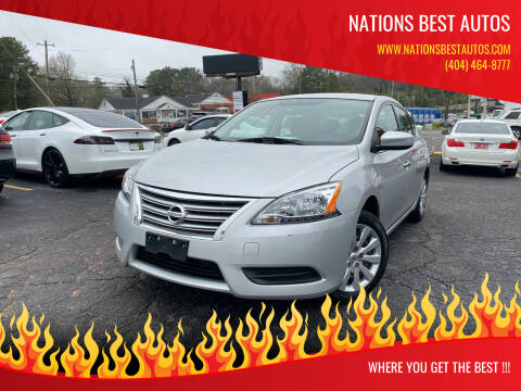 2015 Nissan Sentra for sale at Nations Best Autos in Decatur GA
