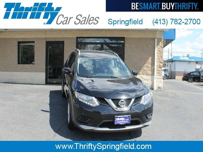 2014 Nissan Rogue for sale at Thrifty Car Sales Springfield in Springfield MA