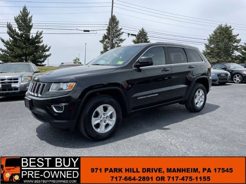 2016 Jeep Grand Cherokee for sale at Best Buy Pre-Owned in Manheim PA