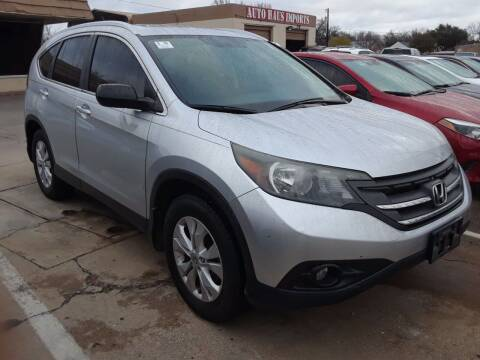 2013 Honda CR-V for sale at Auto Haus Imports in Grand Prairie TX