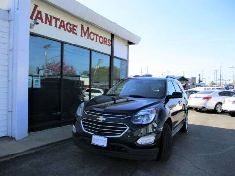 2016 Chevrolet Equinox for sale at Vantage Motors LLC in Raytown MO