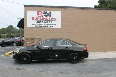 2018 Mercedes-Benz CLA for sale at Burlington Auto Mart in Burlington NC