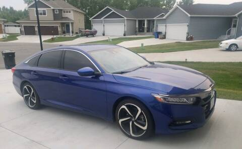 2019 Honda Accord for sale at FAST LANE AUTOS in Spearfish SD