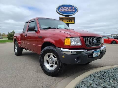 2001 Ford Ranger for sale at Monkey Motors in Faribault MN