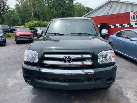 2006 Toyota Tundra for sale at GMG AUTO SALES in Scranton PA