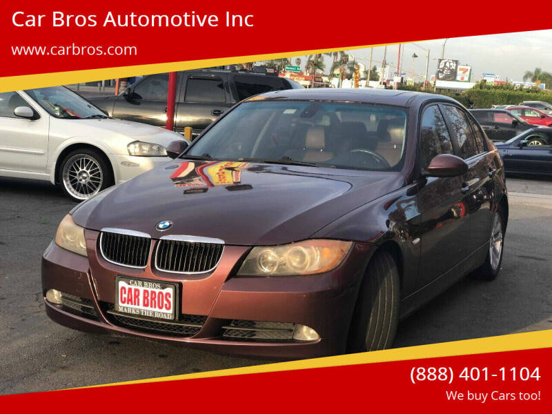 2006 BMW 3 Series for sale at Car Bros Automotive Inc in Lomita CA