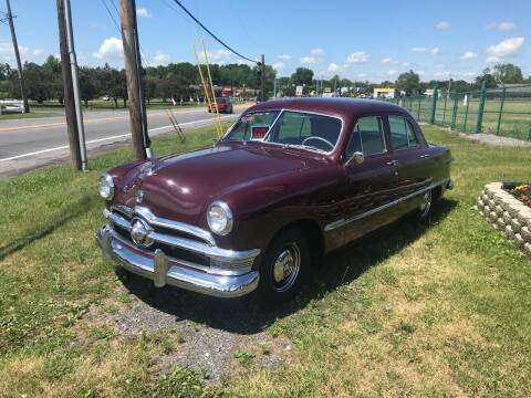 1950 Ford CUSTOM for sale at RJD Enterprize Auto Sales in Scotia NY