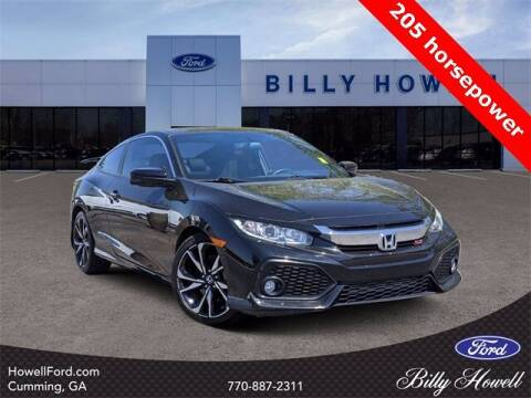 2017 Honda Civic for sale at BILLY HOWELL FORD LINCOLN in Cumming GA