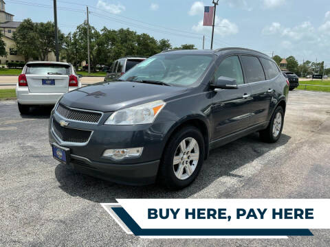 2012 Chevrolet Traverse for sale at H3 MOTORS in Dickinson TX