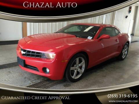 2011 Chevrolet Camaro for sale at Ghazal Auto in Sturgis MI